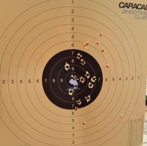 Caracal Shooting Paper