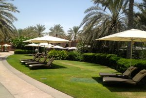Emirates Palace Sun Loungers