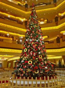 Tree at Emirates Palace