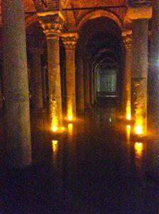 Istanbul's largest surviving Byzantine cistern (underground)