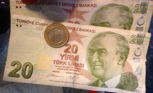 Good bye, Turkish lira- such a bargain!