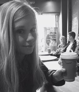 Enjoying your Starbucks, Janet?